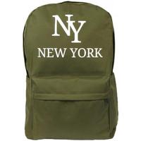 Sacs Sacs à dos Hip Hop Honour Sac a Dos NY Vert Streetwear Confort et Leger New York Studer Vert