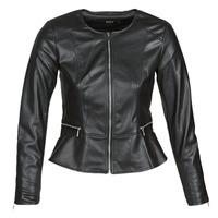 Vêtements Femme Vestes en cuir / synthétiques Only ONLJENNY Noir