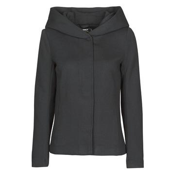 Vêtements Femme Manteaux Only ONLNEWSEDONA Noir