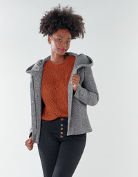 Vêtements Femme Manteaux Only ONLNEWSEDONA Gris