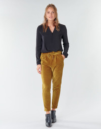 Vêtements Femme Chinos / Carrots Only ONLPOPTRASH Camel