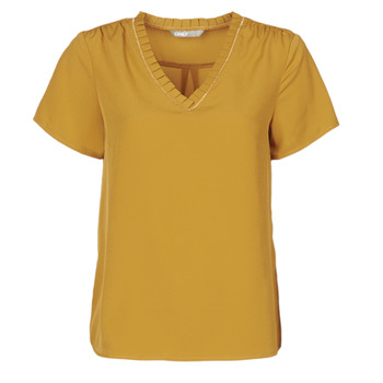 Vêtements Femme T-shirts manches courtes Only ONLVICKY Jaune