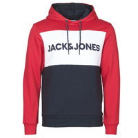Vêtements Homme Sweats Jack & Jones JJELOGO BLOCKING Rouge