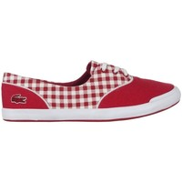 Chaussures Femme Baskets basses Lacoste Lancelle Lace 3 Eye 216 1 Spw Blanc, Rouge