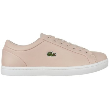 Chaussures Femme Baskets basses Lacoste Straightset Lace 317 3 Caw Beige