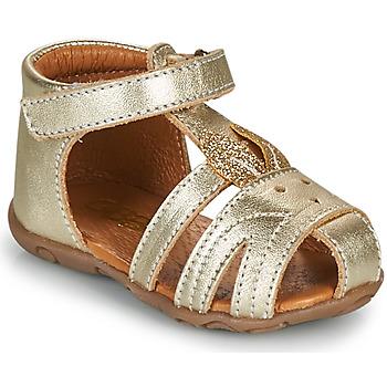 Chaussures Fille Sandales et Nu-pieds GBB FADIA Doré