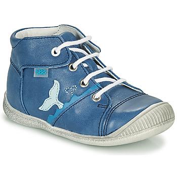 Chaussures Garçon Baskets montantes GBB ABRICO Bleu