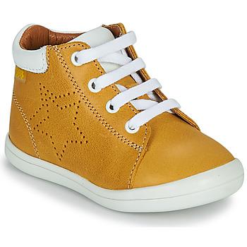 Chaussures Garçon Baskets montantes GBB BAMBOU Jaune