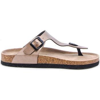 Chaussures Tongs Suredelle Sandales conforts bronze Marron