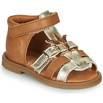 Chaussures Fille Sandales et Nu-pieds GBB CARETTE Marron