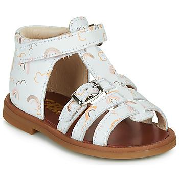 Chaussures Fille Sandales et Nu-pieds GBB PHILIPPINE Blanc