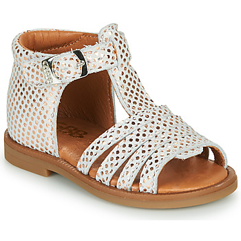 Chaussures Fille Sandales et Nu-pieds GBB ATECA Blanc / Rose gold