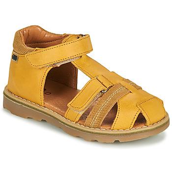Chaussures Garçon Sandales et Nu-pieds GBB MITRI Jaune