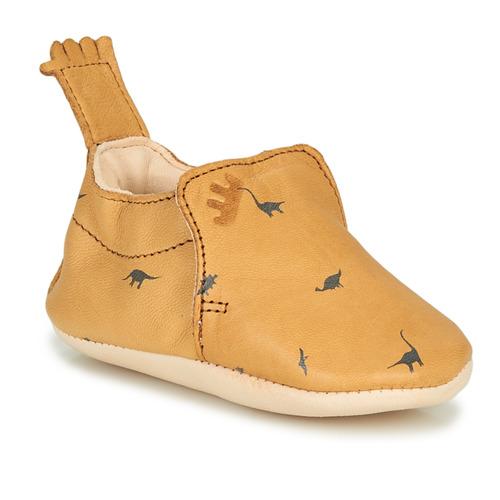 Chaussures Enfant Chaussons Easy Peasy BLUMOO Cognac