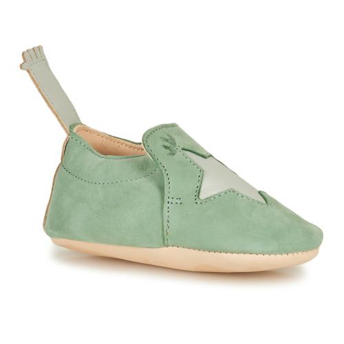 Chaussures Enfant Chaussons Easy Peasy BLUMOO ETOILE Vert