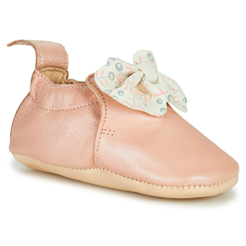Chaussures Fille Chaussons Easy Peasy BLUMOO NOEUD Rose