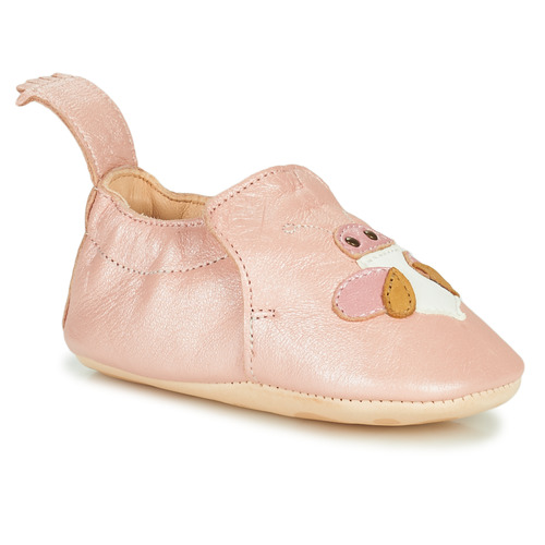 Chaussures Fille Chaussons Easy Peasy BLUMOO ABEILLE Rose