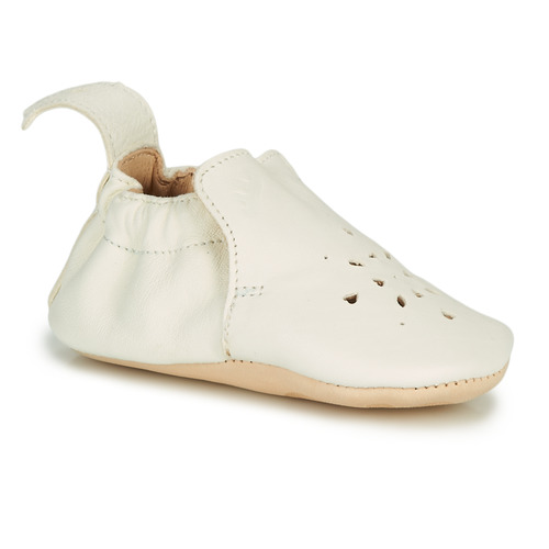 Chaussures Fille Chaussons Easy Peasy BLUMOO PERFOS Blanc