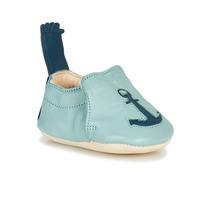 Chaussures Enfant Chaussons Easy Peasy BLUMOO ANCRE MOU MIST-DENIM MOU/CUIR
