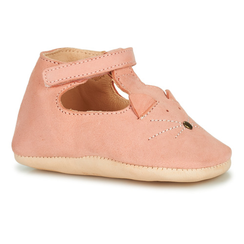 Chaussures Fille Chaussons Easy Peasy LOULOU CHAT Rose