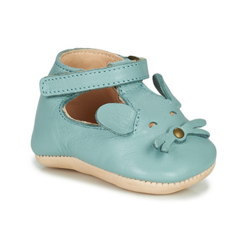 Chaussures Enfant Chaussons Easy Peasy LOULOU MOUSE Bleu
