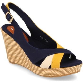 Chaussures Femme Sandales et Nu-pieds Festissimo F20-12 Amarillo