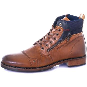 Chaussures Homme Boots Chaussures Redskins HAMAM COGNAC MARINE Cognac