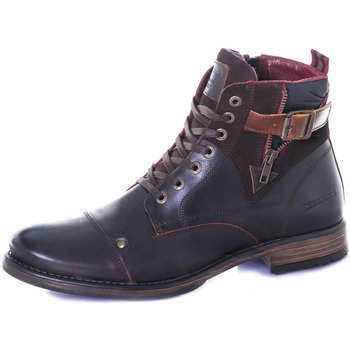 Chaussures Homme Boots Chaussures Redskins YERO MARRON COGNAC Marron