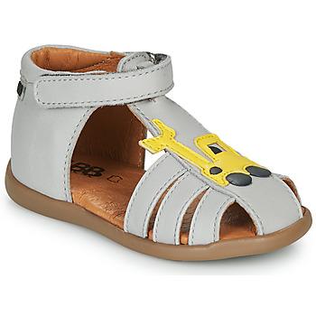 Chaussures Garçon Sandales et Nu-pieds GBB TULIO Gris