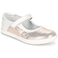 Chaussures Fille Ballerines / babies GBB PLACIDA Blanc