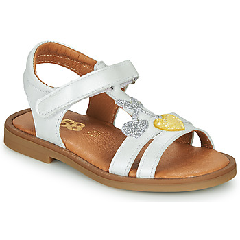 Chaussures Fille Sandales et Nu-pieds GBB MURIA Blanc