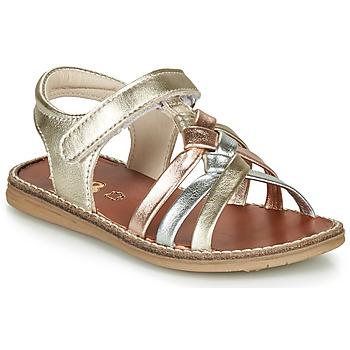 Chaussures Fille Sandales et Nu-pieds GBB SUMY Orange
