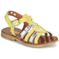 Chaussures Fille Sandales et Nu-pieds GBB FANNI Jaune