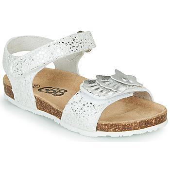 Chaussures Fille Sandales et Nu-pieds GBB FAZZI Argenté