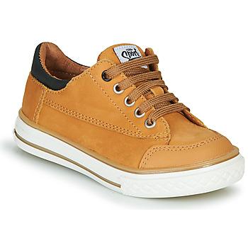 Chaussures Garçon Baskets basses GBB ETIO Orange