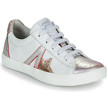 Chaussures Fille Baskets basses GBB DANNI Blanc