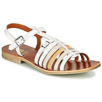 Chaussures Fille Sandales et Nu-pieds GBB BANGKOK Blanc