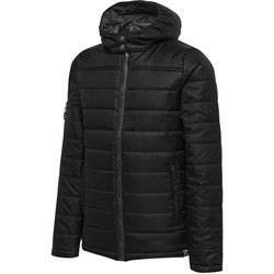 Vêtements Enfant Doudounes Hummel Parka junior   North Quilted noir/gris anthracite