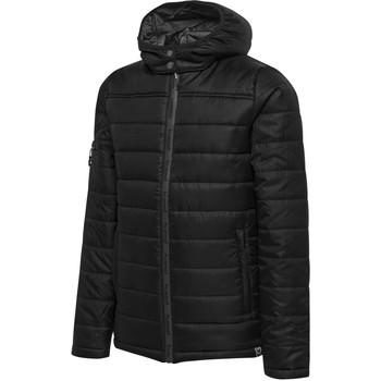 Vêtements Enfant Doudounes Hummel Parka junior   North Quilted noir/gris anthracite