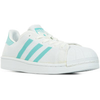 Chaussures Femme Baskets basses adidas Originals Superstar W blanc