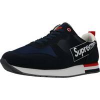 Chaussures Homme Baskets basses Supreme 027001 Bleu