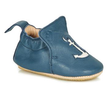 Chaussures Enfant Chaussons Easy Peasy BLUBLU ANCRE Bleu