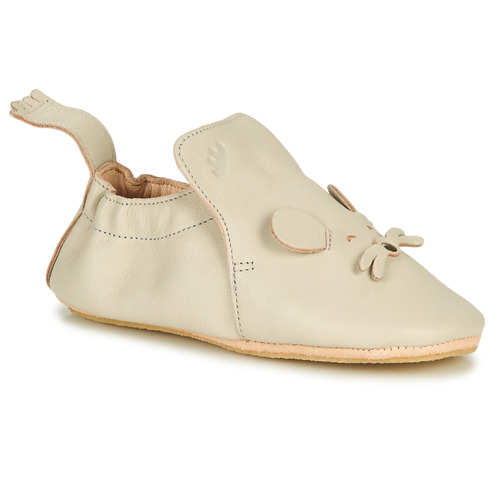 Chaussures Enfant Chaussons Easy Peasy BLUBLU MOUSE Blanc