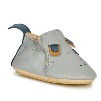 Chaussures Enfant Chaussons Easy Peasy BLUBLU CHIEN Gris