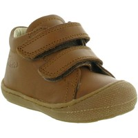 Chaussures Garçon Boots Naturino & Falcotto COCOON BOY VELCRO Marron