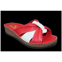 Chaussures Femme Mules Anatonic Tournesol Rouge
