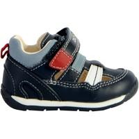 Chaussures Homme Baskets basses Geox Sandales Bébé/Garçons B Each B. A - Nappa+Geobuck Navy/White