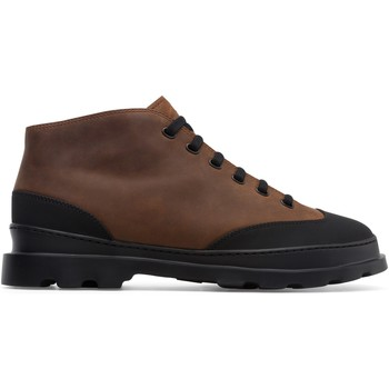 Chaussures Homme Boots Camper Bottines cuir BRUTUS marron
