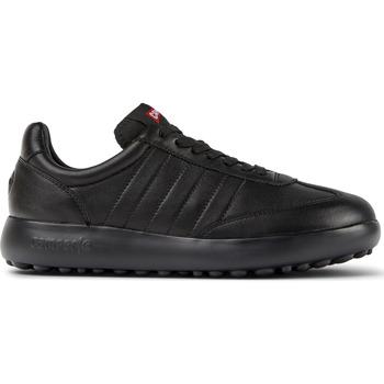 Chaussures Femme Baskets basses Camper Baskets à lacets cuir Pelotas XLF noir