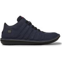 Chaussures Homme Boots Camper Baskets à lacets cuir Beetle bleu